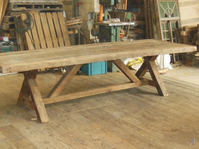 Table en chêne du XVIIIe siècle - Fumay