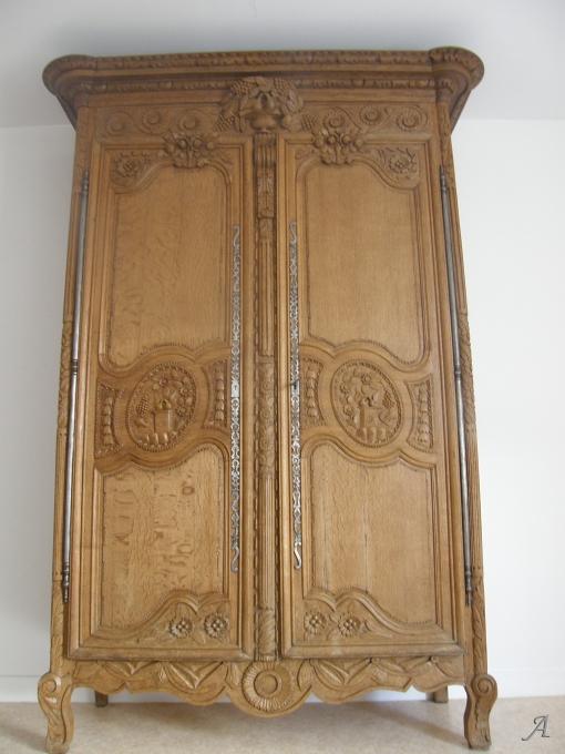 Armoire de mariage normande - Issoudun