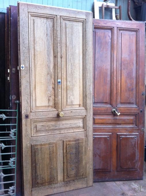 Porte d'entrée d'appartement fin XIXe siècle - Tourcoing