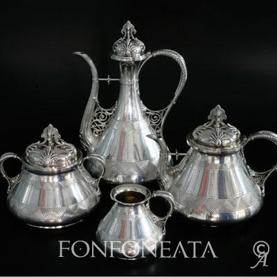 Service à café et à thé Froment Meurice - Gand