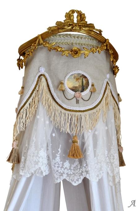 Ciel de lit Louis XVI - Eauze