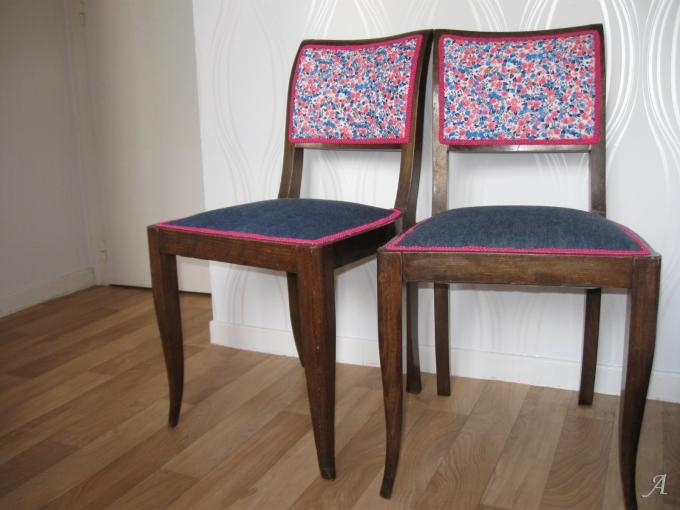 Chaises Art Déco - La Chevrolière