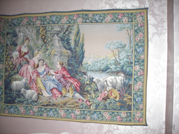Tapisserie murale Jacquard - Villars sur Glane