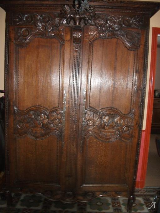 Armoire normande du XIXe siècle - Louans