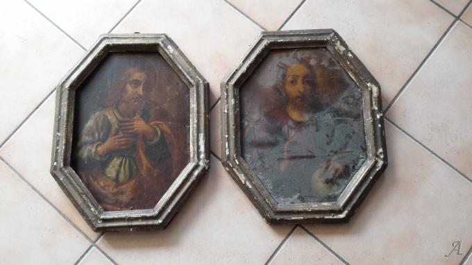 Peintures sur panneaux de bois - Annoville