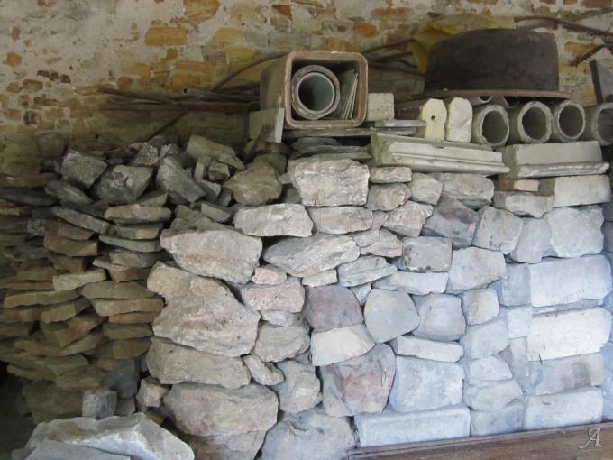 Lot de pierres - Sablé sur Sarthe