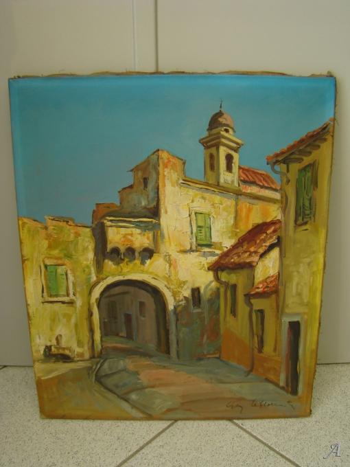 Guy Le florentin - Huile sur toile - 1