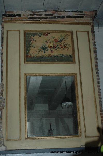 Trumeau de cheminée de style Louis XVI - Cognac la Forêt