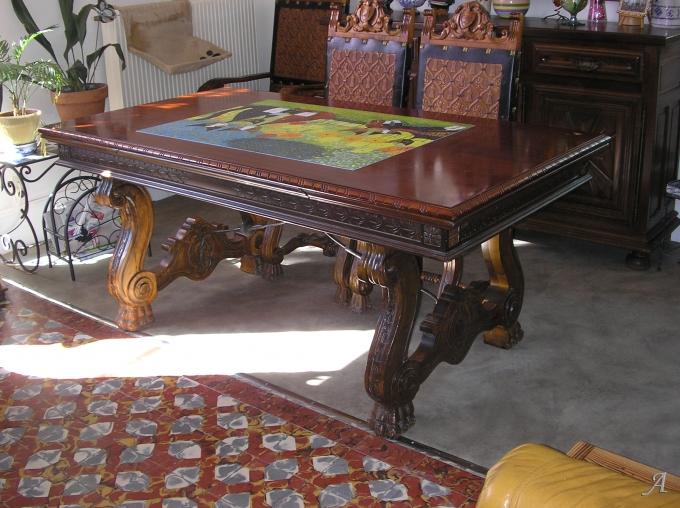 Table renaissance espagnole - Saint Vincent de Boisset