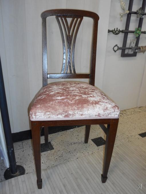 Deux chaises de style Art Déco - Lézignan Corbières