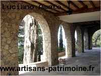 Dalles anciennes en pierre de Bourgogne - Forte Dei Marmi