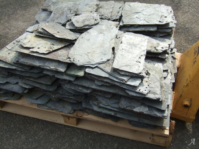 Lot de 60 ardoises à pureaux dégressif soit 5 m2 - Malansac