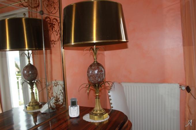 Lampe signée Charles - Saint Germain Laprade