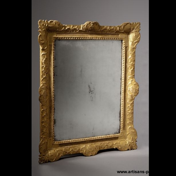Miroir rectangulaire du début du XVIIIe siècle - Paris