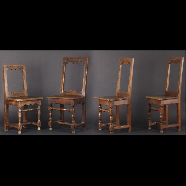 Quatre chaises lorraines du XIXe siècle - Paris