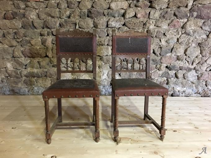 Chaises de style Henri II - Estivareilles