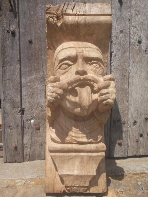 Grotesque grimaçant - Saint Martin de Mailloc