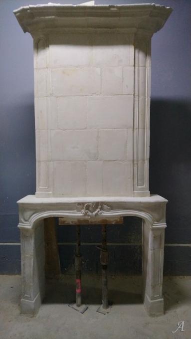 Cheminée ancienne du XVIIIe siècle - Igné, Cizay la Madeleine