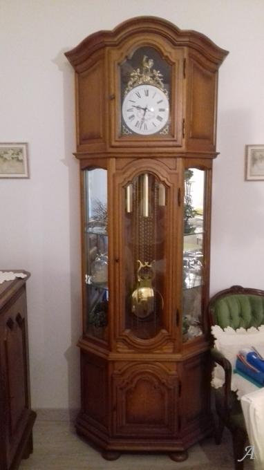 Horloge comtoise d'angle - Saint Ambroix