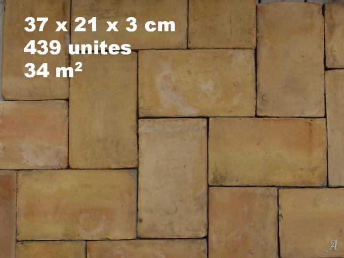 Lot de 34 m2 de parefeuilles anciens - Puy l'Eveque