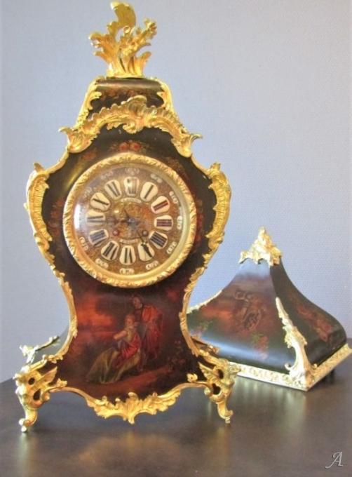 Cartel d'applique de style Louis XV et d'époque Napoléon III - Villeurbanne