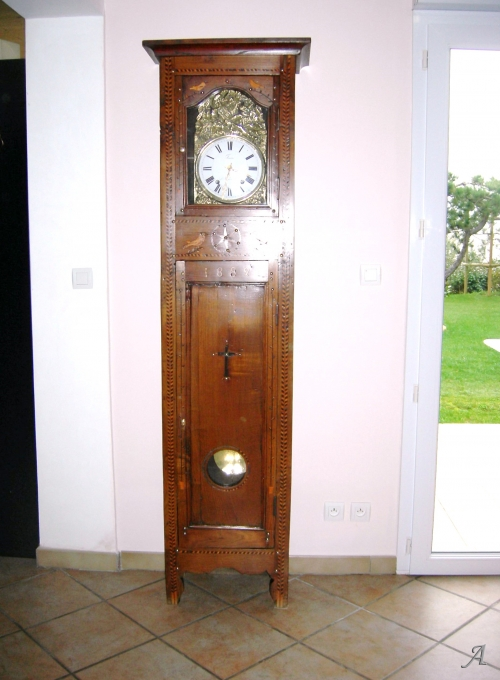 Pendule de parquet du XIXe siècle - La Bernerie en Retz