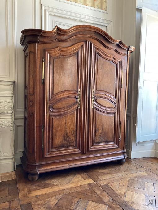 Armoire de boiserie Régence XVIIIe siècle - Châteaubriant