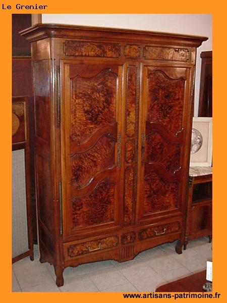 Armoire bressanne du XVIIIe siècle - Quimper