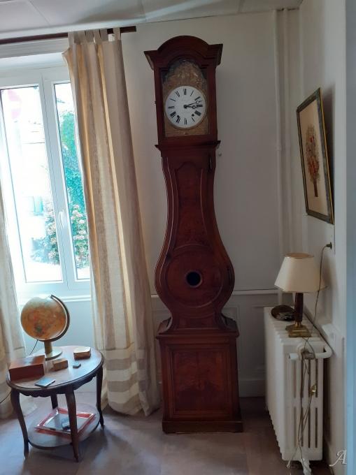Horloge bressane du XIXe siècle - Cours la Ville