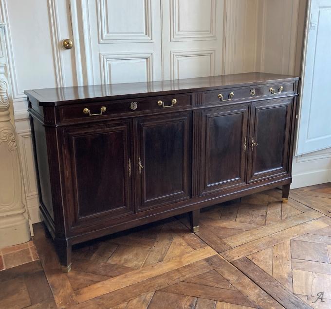 Enfilade Louis XVI du XVIIIe siècle - Châteaubriant