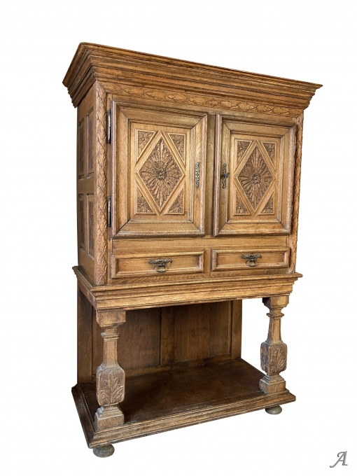 Cabinet Louis XIV du XVIIe siècle - Rougé