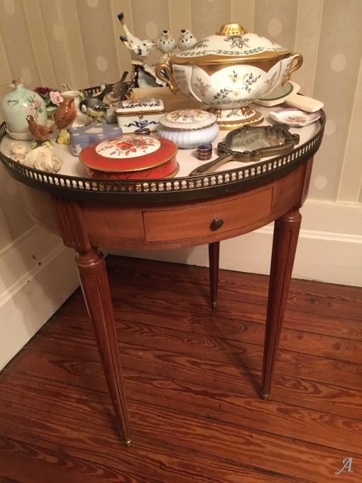 Table bouillotte de style Louis XVI - Provins