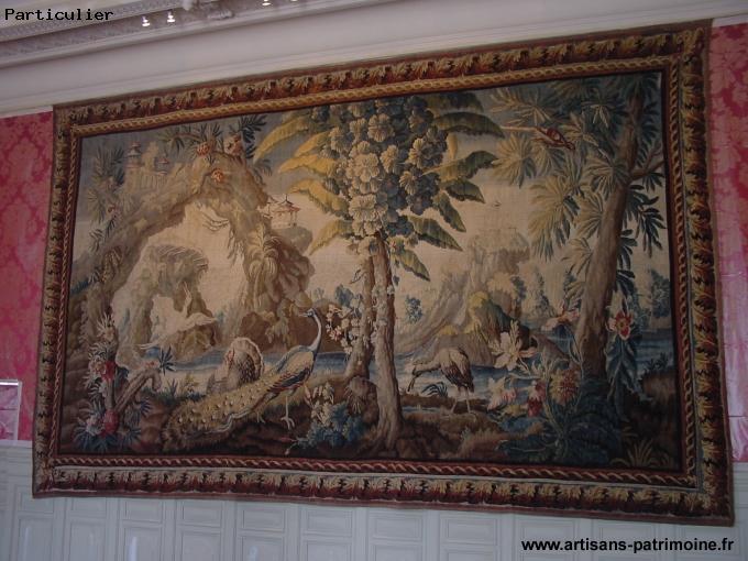 Tapisserie Aubusson du XVIIIe siècle - Rougemont