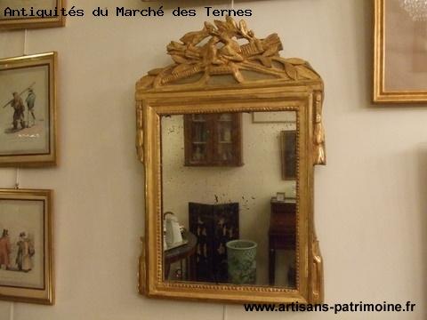 Miroir du XVIIIe siècle - Paris