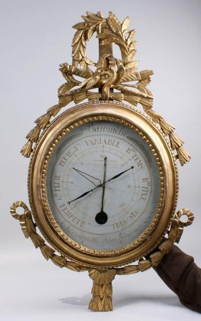 Baromètre XVIIIe d'époque Louis XVI - Saint Ouen
