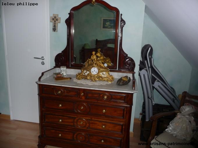 Chambre à coucher fin XIXe siècle - Leers