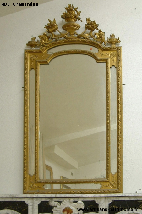 Miroir Louis XVI du XIXe siècle - Saint Ouen
