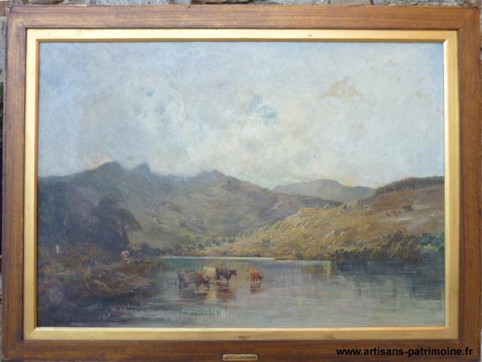 Peinture d'Alfred de Breanski - Hyeres
