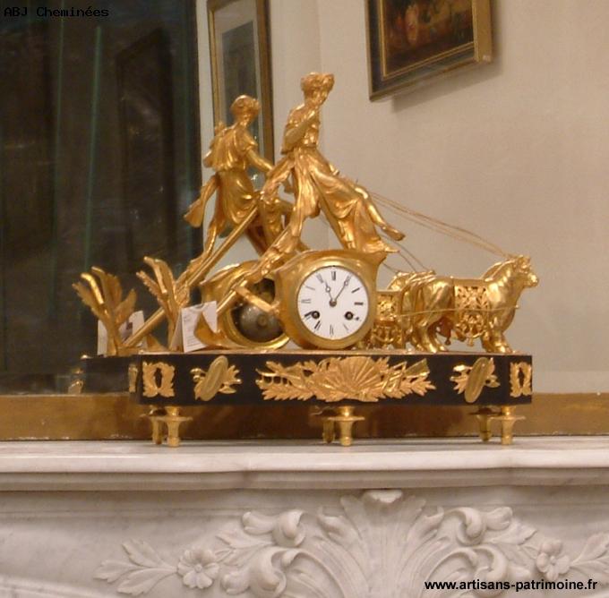 Pendule charrue - Saint Ouen