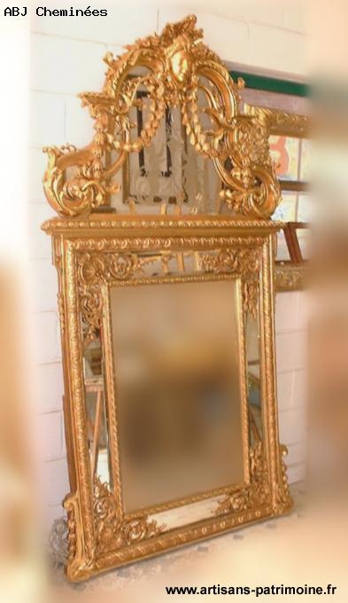 Miroir de style régence, époque Napoléon III - 1