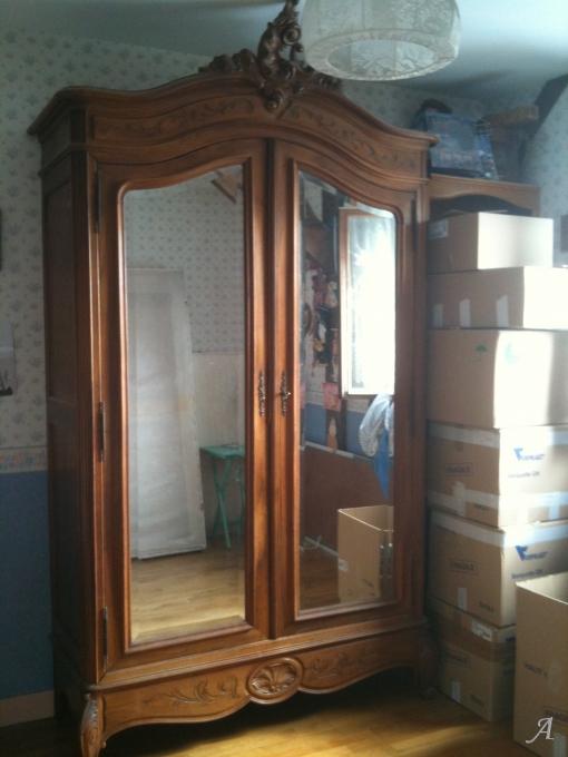 Chambre à coucher de style Louis XV - Villejuif