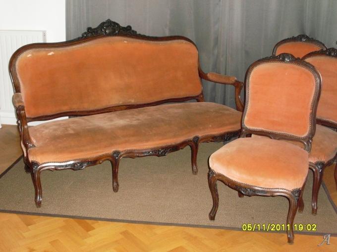 Salon de style Louis XV - Guyancourt