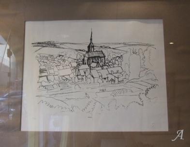 Vue de village d'André Derain - Paris