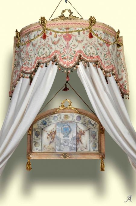 Ciel de lit de style Louis XVI - Eauze