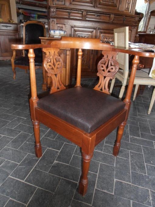 Fauteuil de bureau du XIXe siècle - Brugheas