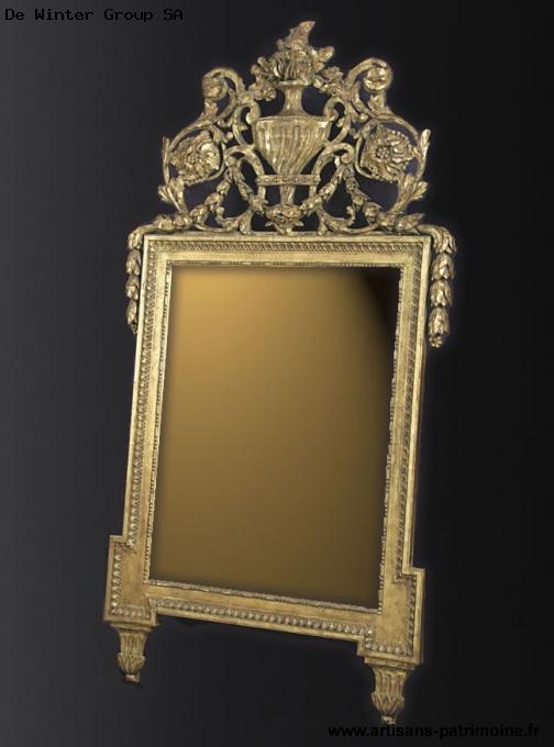 Miroir de style Louis XVI - Marin Epagnier