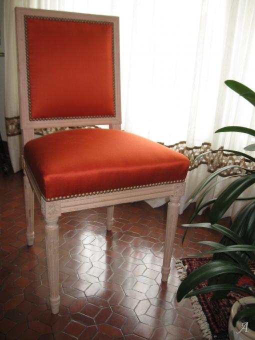 Chaise Jacob de style Louis XVI - La Chevrolière