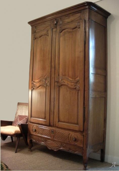 Armoire provençale d'époque Directoire - Aix en Provence