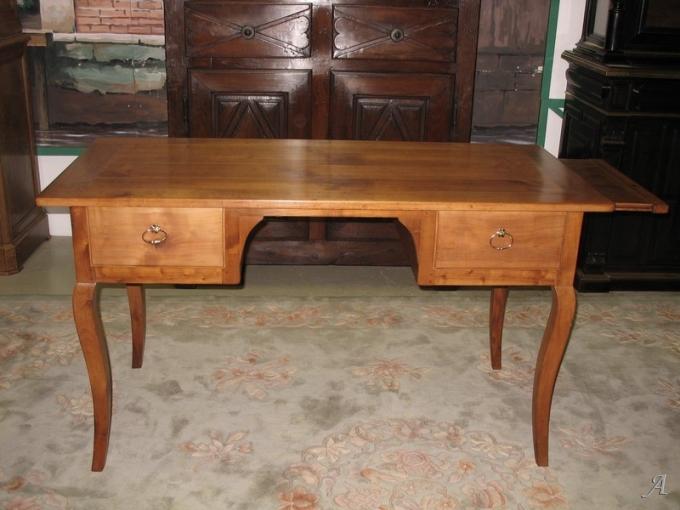 Table bureau de style Louis XV du XIXe siècle - Heric