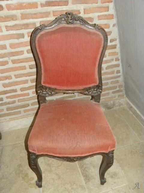 Chaise de style Louis XV - Louvroil